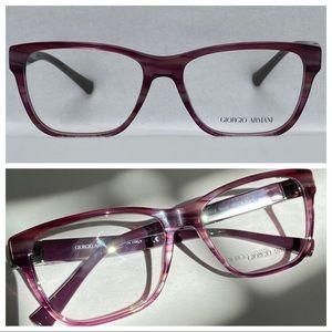 G ARMANI AR7049 Striped Violet 5290 55-16-140
